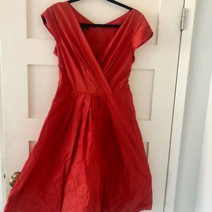 NEW Stunning Orange Occasion Dress